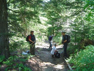 Volunteer Trail Work